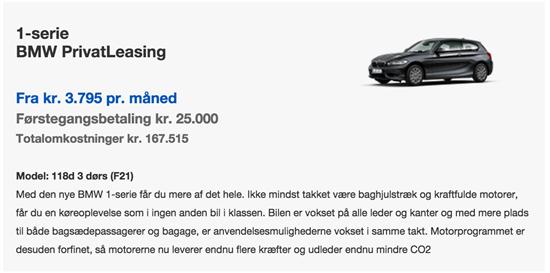 Lease eller lån af bil - Hjælp med excel formler - Amino.dk