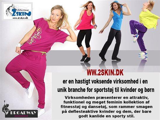 4c76e98487e Se vores store udvalg af dametøj og børnetøj til sport, træning, zumba,  løb, fitnes og meget mere online på http://www.2skin.dk/ eller skriv til ...