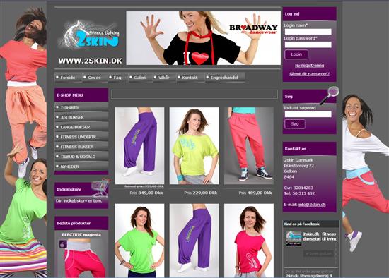49e28998427 Fitnesstøj til kvinder - online butik søger feedback. - Amino.dk
