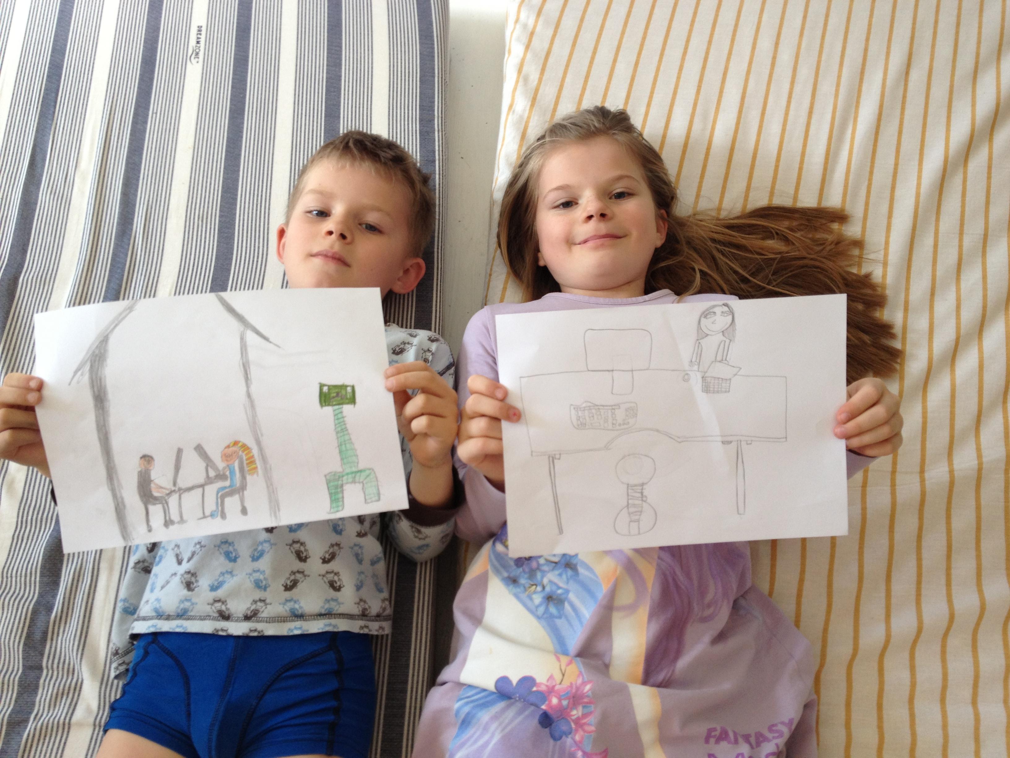 Tegnekonkurrence for børn der er med os   side 2   amino.dk