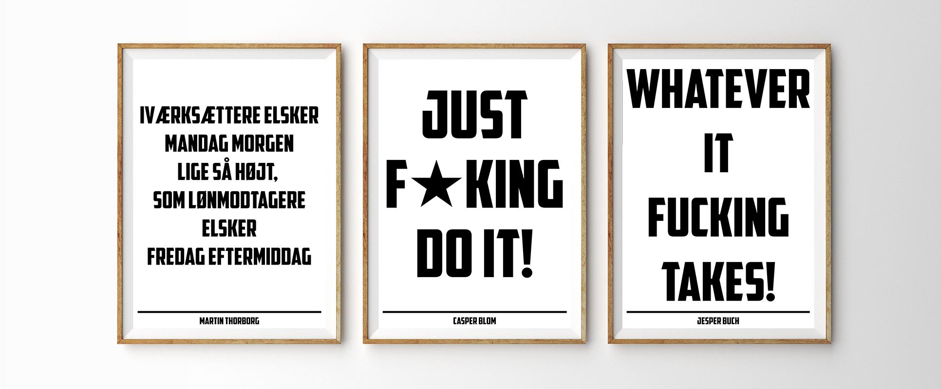citater om salg Få lavet plakater med dine egne citater til din virksomhed!   Amino.dk citater om salg