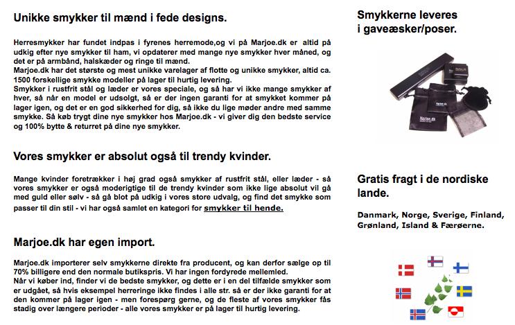 oversæt fra svensk til dansk